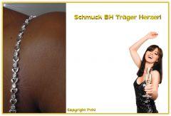 Schmuck BH-Träger Herzerl silber