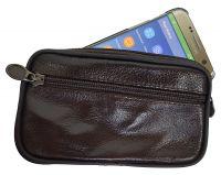 Echt Leder Gürteltasche - perfekt für Smartphones