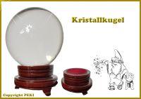 Wunderschöne Kristallkugel für Hellseher und Zauberer 10cm Durchmesser