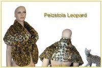 Pelz-Stola Leopard (Webpelz)