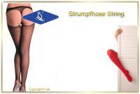 Netzstrumpfhose String 2013