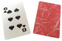 Metall Spielkarte