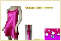 Neglige Satin Amore pink