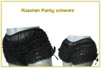 Rüschenpanty Schwarz