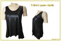 Tshirt Lederoptik XXL-Größen A26