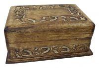 Zauberhafte Trick-Kiste Geschnitzt - Lieferung ohne Erklärung