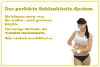 Das perfekte Schlankheits-System - das funktioniert wirklich !!!