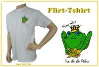 Flirt-Shirt - damit kommen Sie mit jeder Frau ganz schnell ins Gespräch