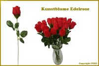 Kunstblume Edelrose