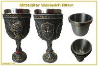 Weinkelch Ritterhelm
